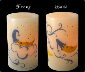 brite lites moon candles