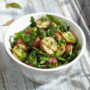 Spring-Pea-and-Potato-Salad