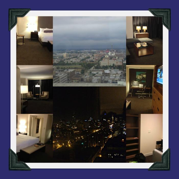 Hyatt photo collage
