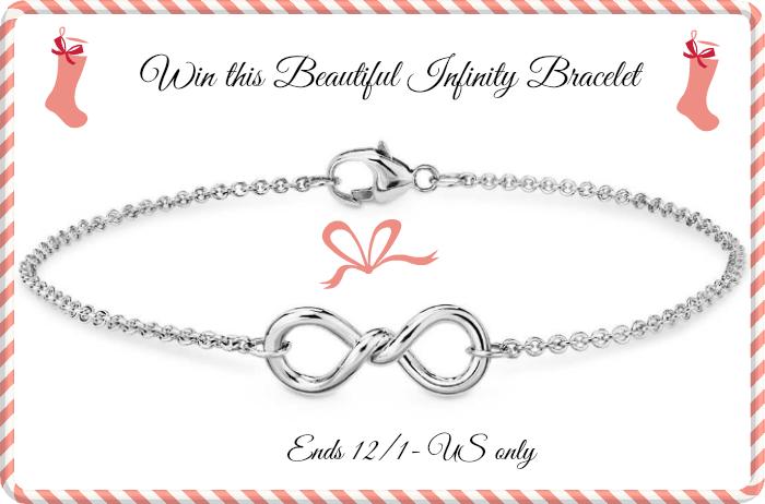 BLUE nile infinity bracelet