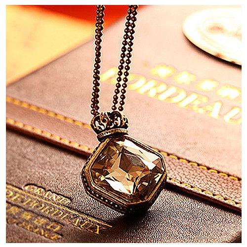 cherry crown necklace pendant