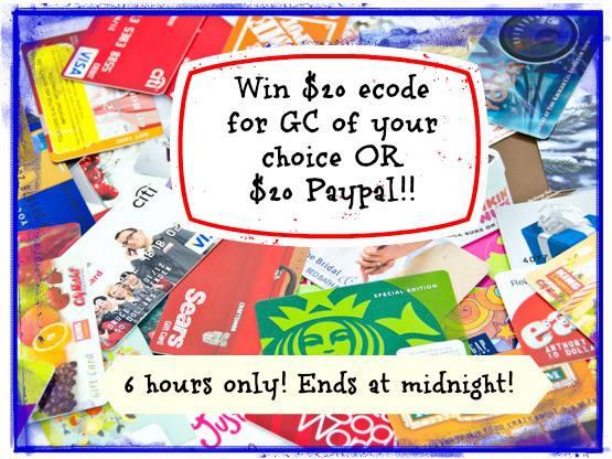 egift card choice and paypal