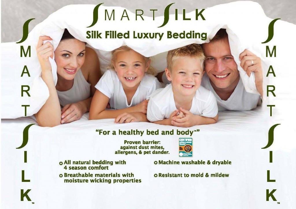 smart silk pillows