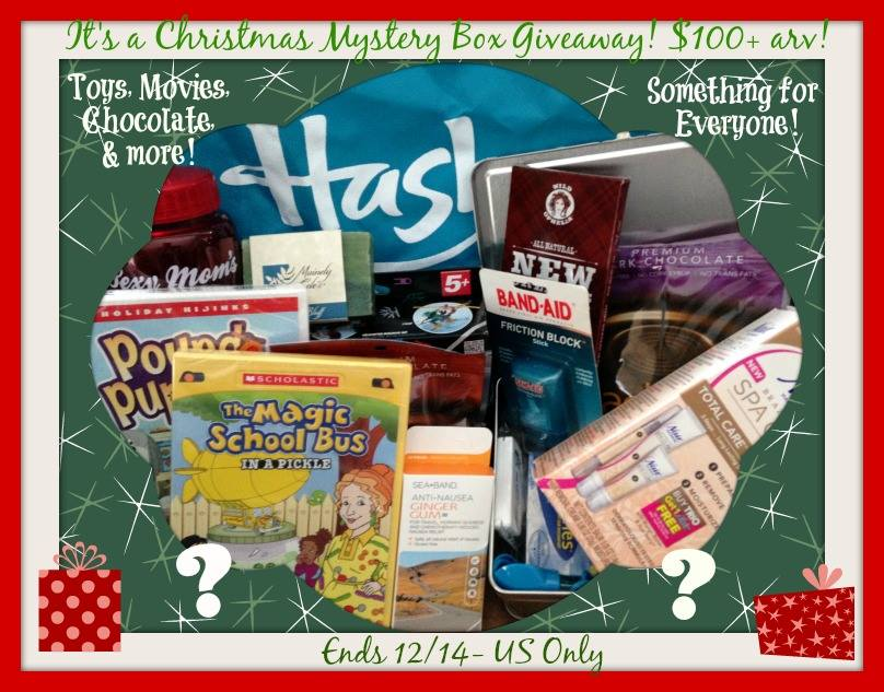 Christmas mystery box giveaway