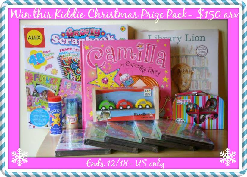 Kiddie Christmas prize pack