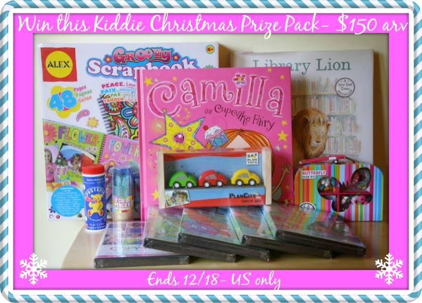 Kiddie Christmas prize pack
