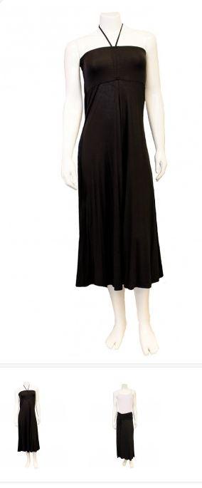 bamboo maxi dress