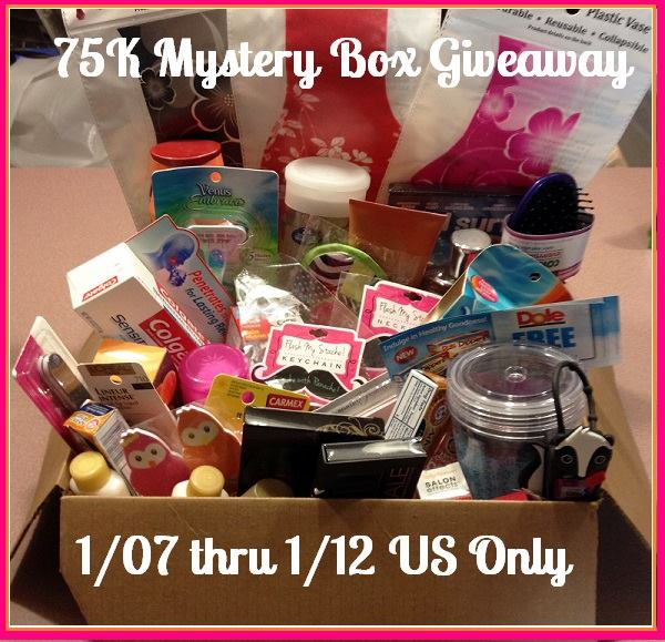 75k mystery box giveaway