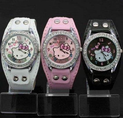 hello kitty 3 watch set