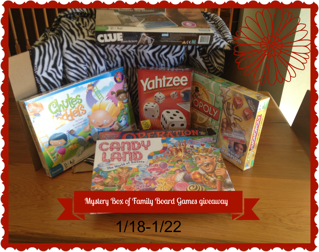 mystery box family games