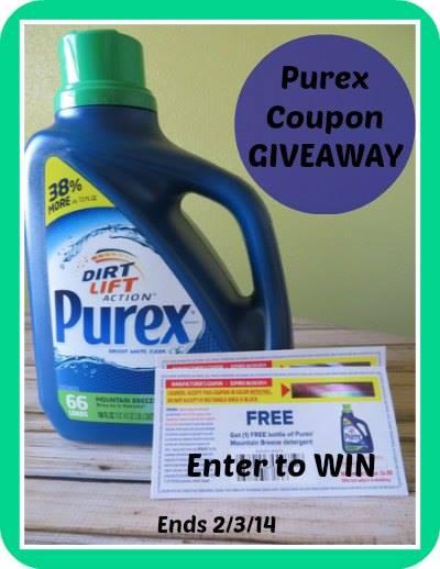 purex coupon giveaway