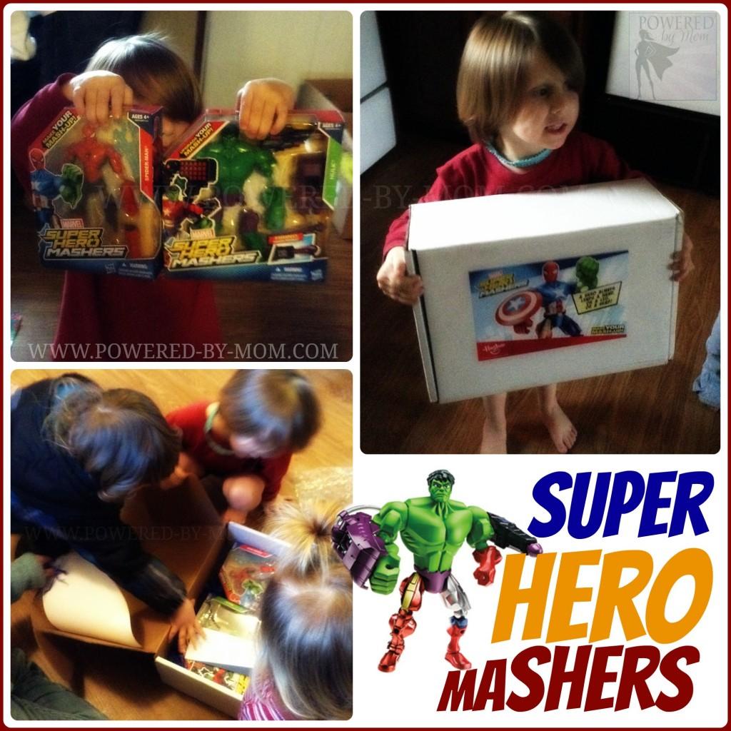 Hasbro Super Hero Mashers