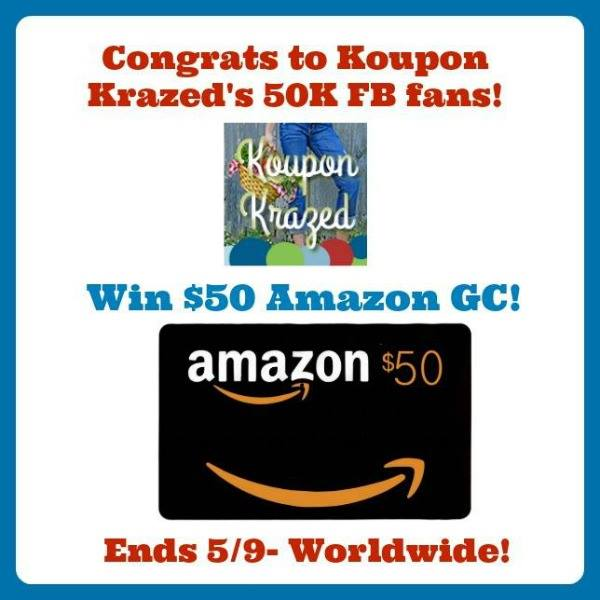 50 amazon koupon krazed