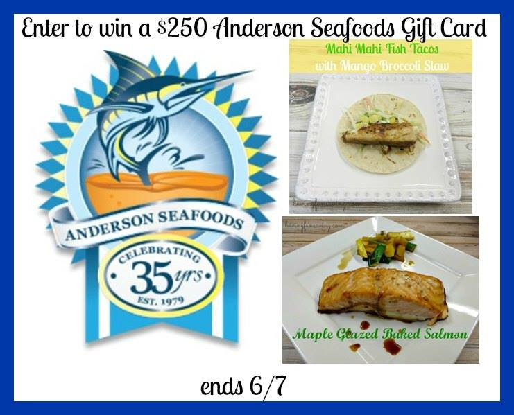anderson's seafood gift card