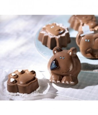 silicone baking molds cute