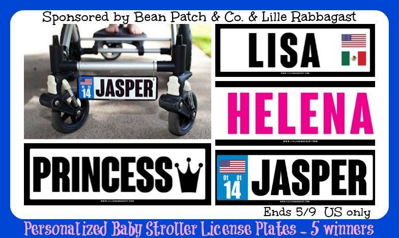 stroller license plates