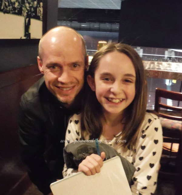 Daughter and Kurt Browning May 2014