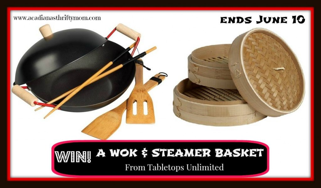 wok and steamer basket