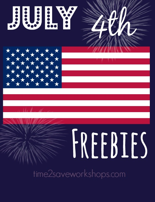 4th of july freebies