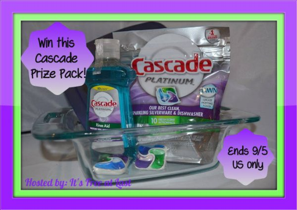 cascade prize pack