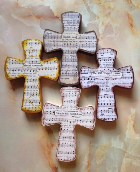 hymnal cross