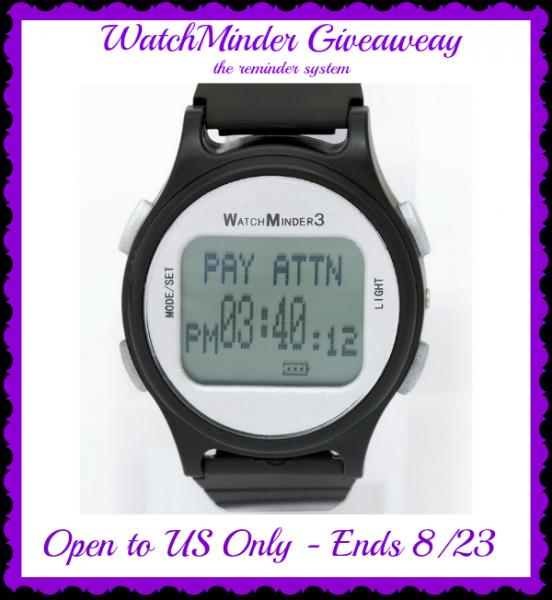 watchminder button
