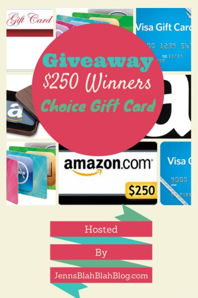 250 gift card giveaway