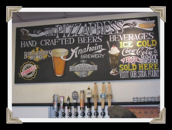 Pizza Press Hand Crafted Beers