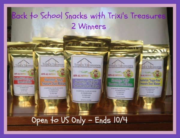 back to school with Trixi's Treasures