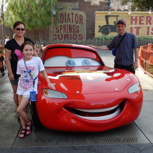 disneyland 2014 CARS