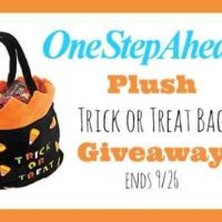 one step ahead treat bag
