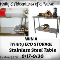 trinity eco storage table