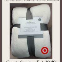 Microplush blanket Target