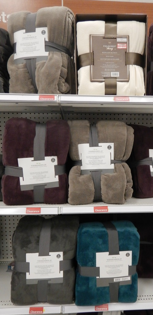 threshold polar fleece blankets
